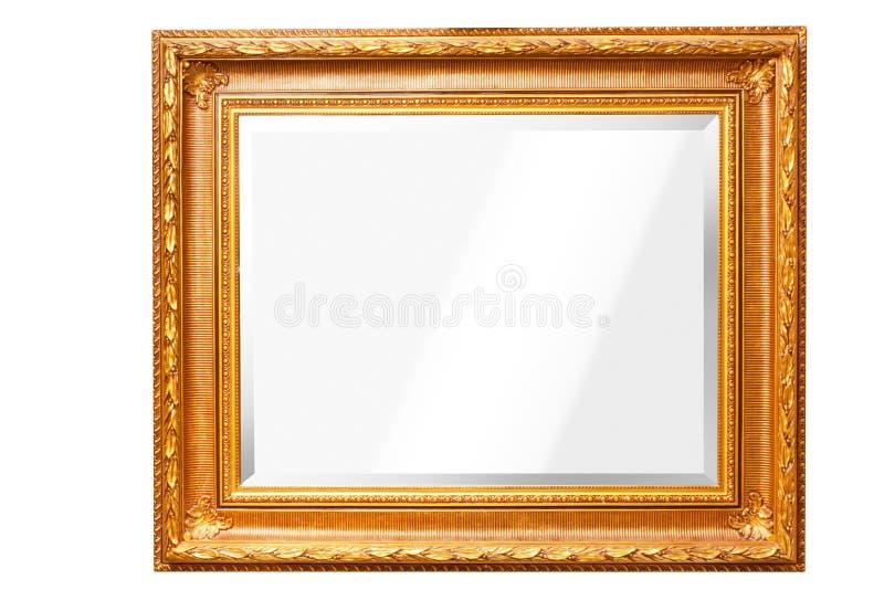 Miroir de vieux type photo stock
