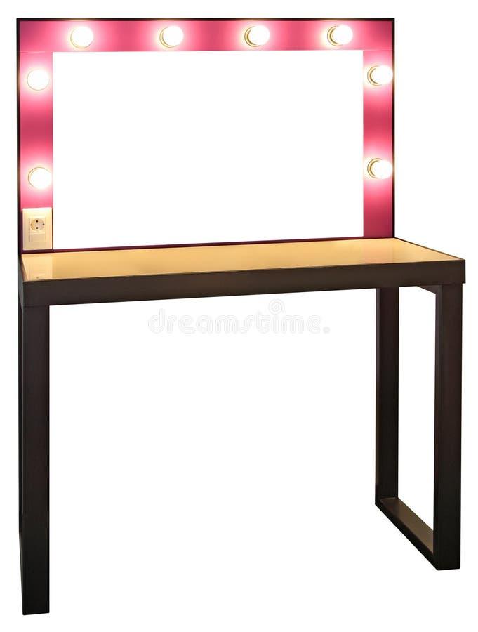 table de maquillage photo stock image du cr ateur. Black Bedroom Furniture Sets. Home Design Ideas