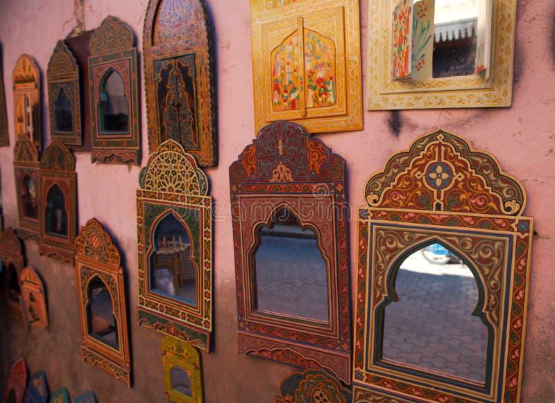 Miroirs de Marrakech photos stock