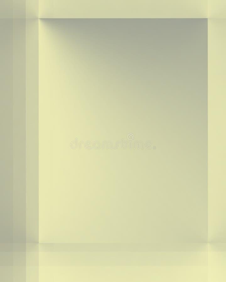 Miroitement jaune argenté illustration libre de droits