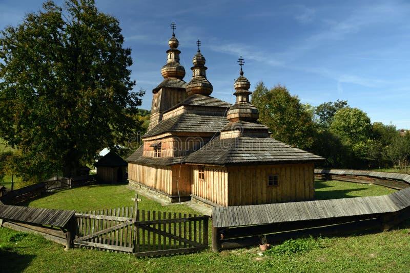 Mirola kyrka, Slovakien royaltyfri bild
