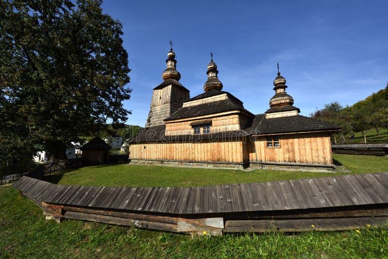 Mirola kyrka, Slovakien arkivbild