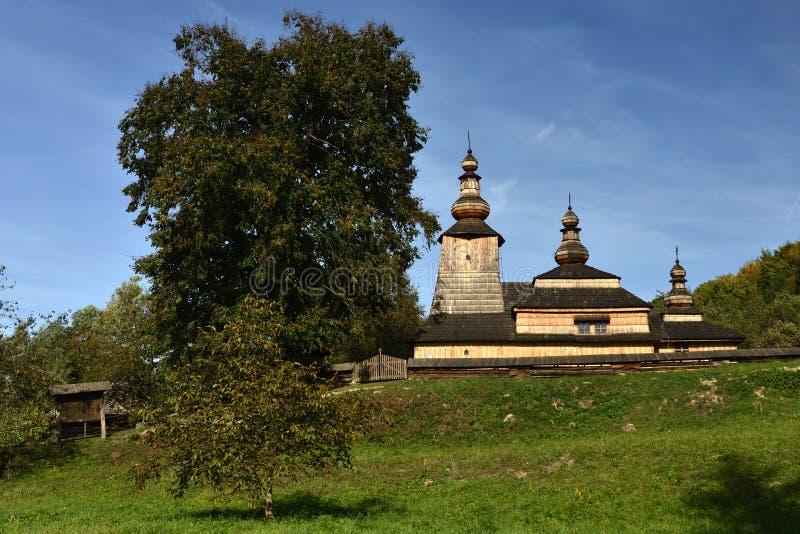Mirola kyrka, Slovakien royaltyfri foto