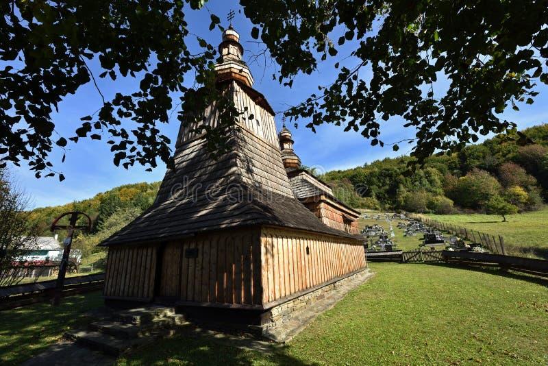 Mirola kyrka, Slovakien arkivfoto