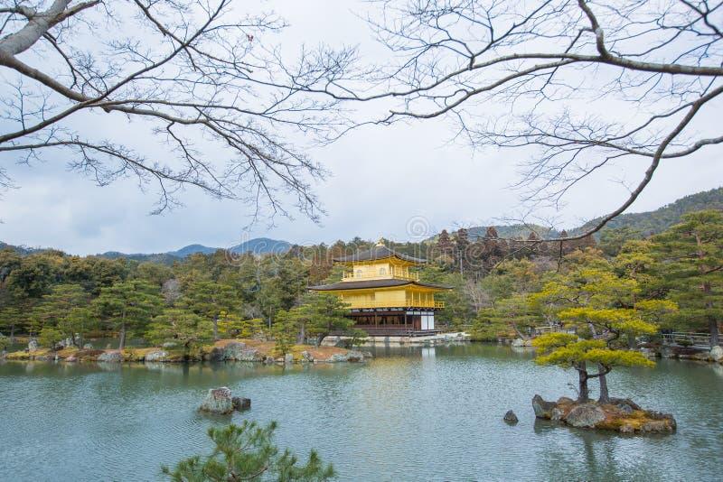 Miromachi Zen bij rustig De Tempel van Kinkakuji stock foto