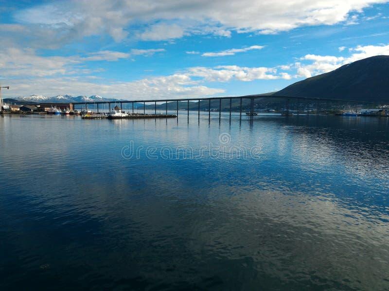 miror en el cielo azul del mar foto de archivo libre de regalías