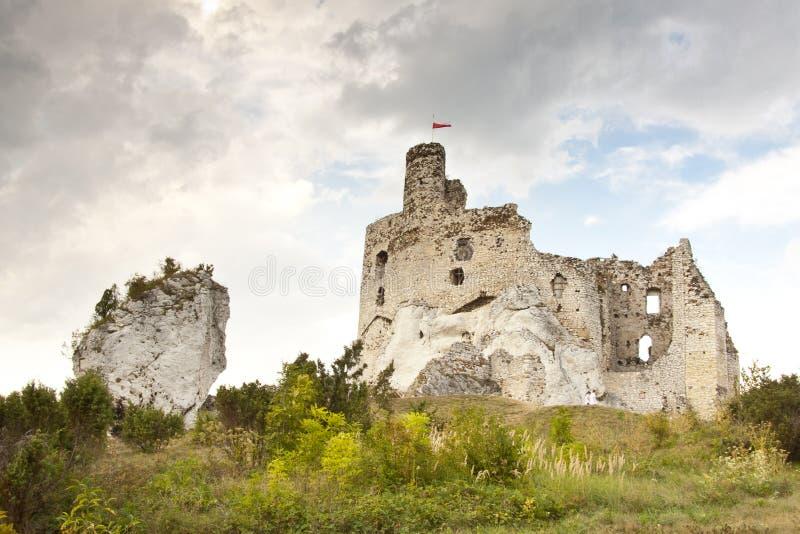 Mirow Castle - Poland royalty free stock image