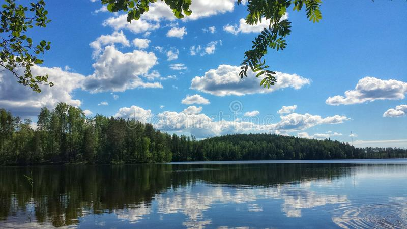 Mirror湖风景 图库摄影