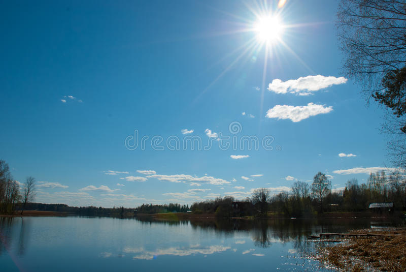 Mirror湖 免版税库存图片