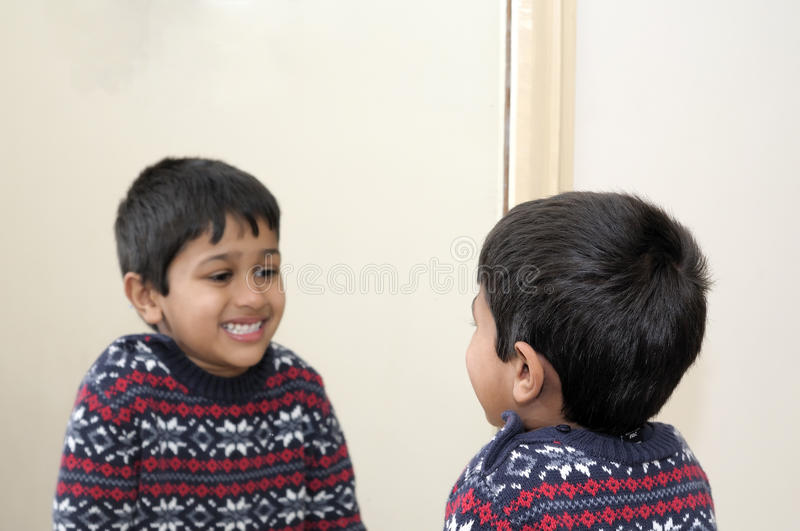 Download Mirror stock image. Image of interior, family, cute, face - 17525583