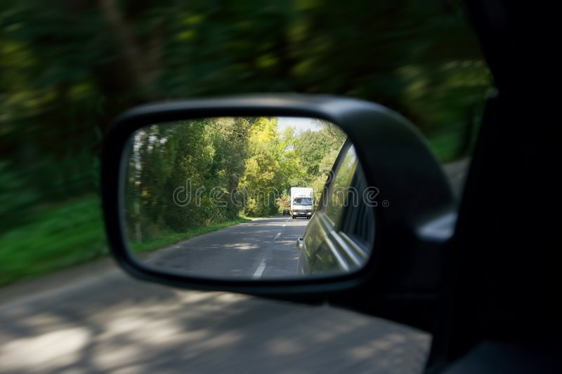 Download Mirror stock photo. Image of move, lane, outdoor, curve - 5419798