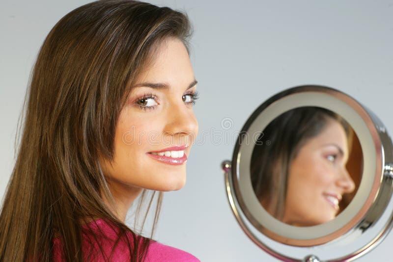 Download Mirror stock photo. Image of cosmetic, beautiful, make - 8505688