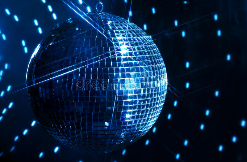 Download Mirror Ball stock image. Image of star, blue, globe, light - 21716263