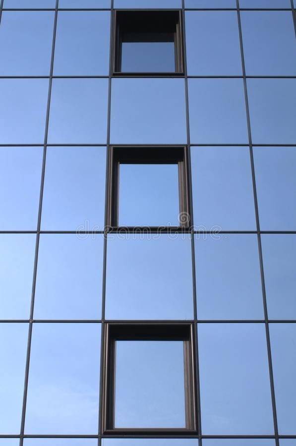 Mirror building stock images