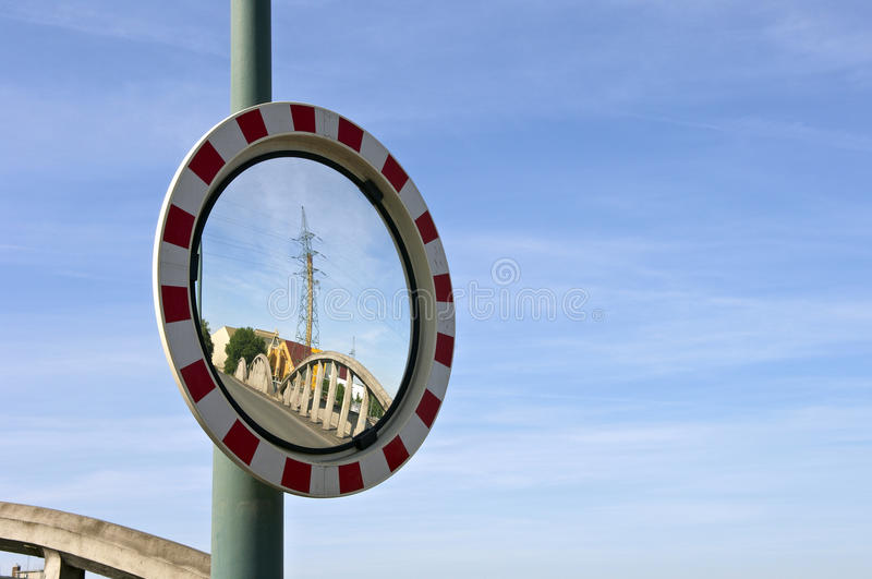 Download Mirror In Bussines Area Royalty Free Stock Photo - Image: 25031725