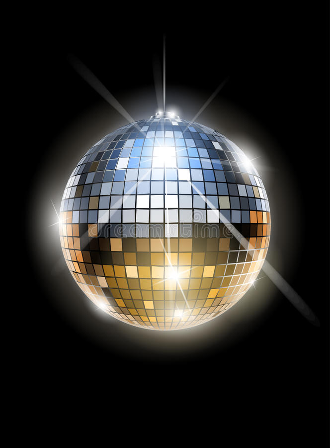 Free Mirror Disco Ball Royalty Free Stock Image - 24089086