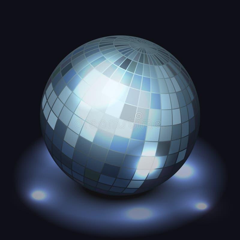 Download Mirror disco ball stock vector. Image of dance, disco - 35175508