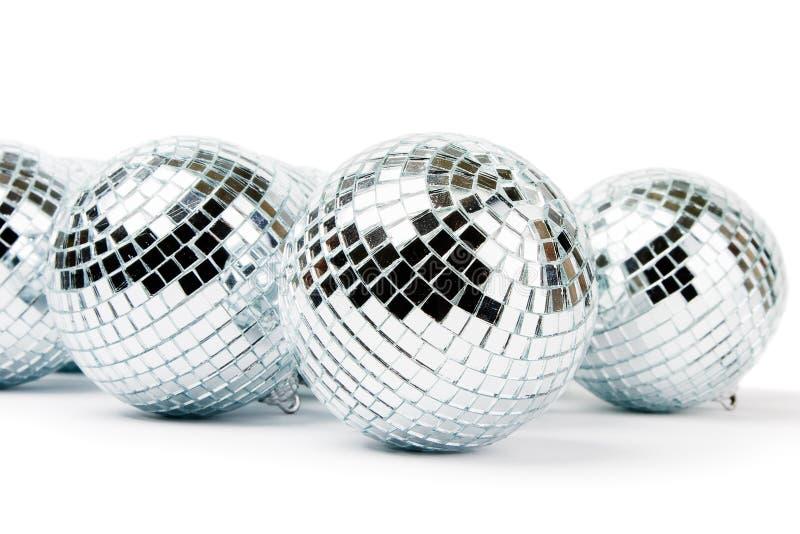 Download Mirror disco balls stock image. Image of decoration, white - 7636791