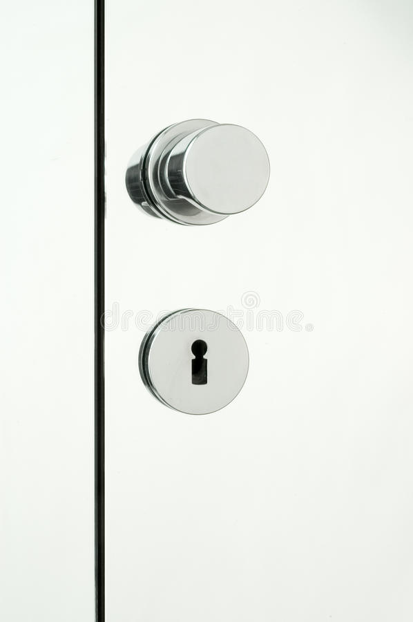 Download Mirror Doors With Chrome Handle Royalty Free Stock Photo - Image: 24473355