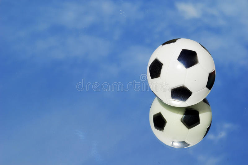 Download Mirror football sky stock image. Image of mirror, reflection - 25155961