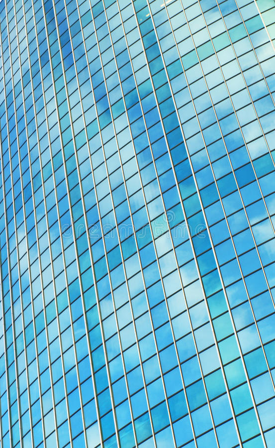 Mirror glass building royalty free stock photography