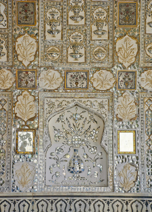 Download Mirror mosaics decorate stock photo. Image of ancient - 22052932