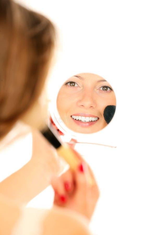 Download Mirror reflection stock image. Image of make, makeup - 19430719