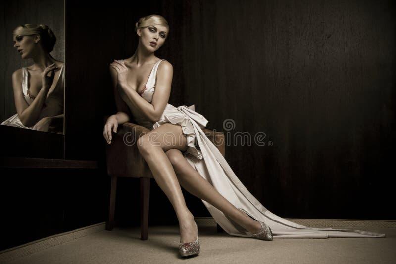 Download Mirror woman stock photo. Image of fashion, caucasian - 10174800