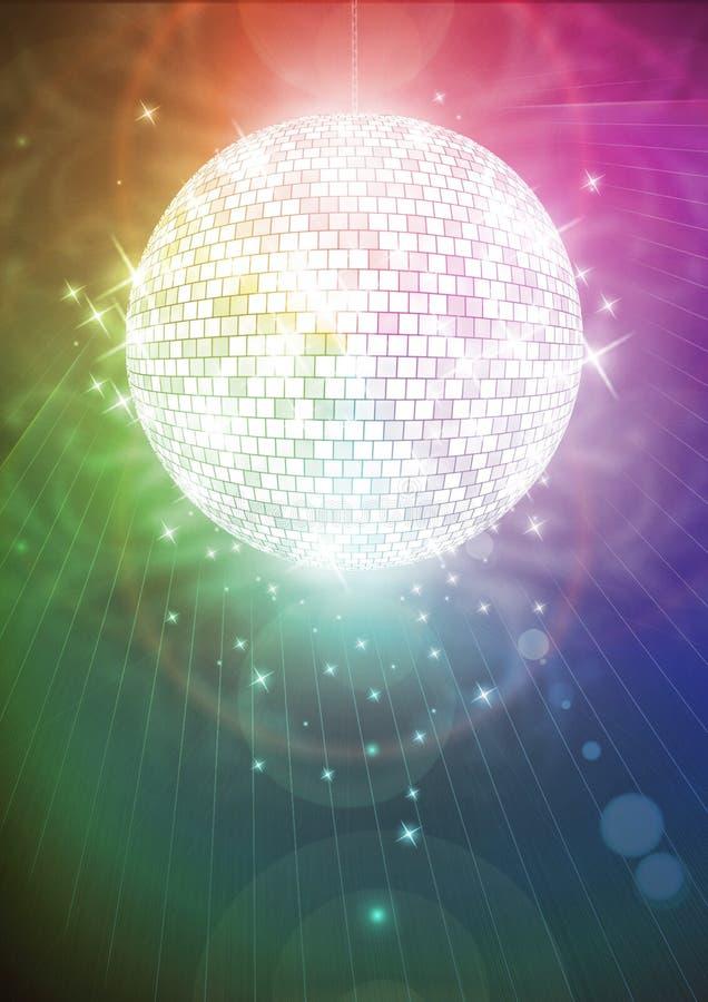 Mirrorball mágico foto de archivo libre de regalías
