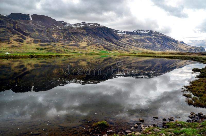 Mirrored in water royalty free stock photos
