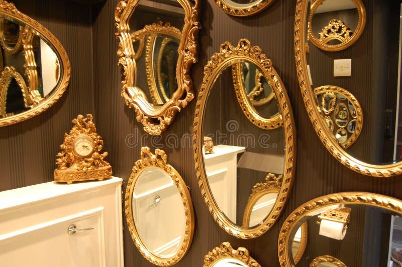Mirrors royalty free stock photos