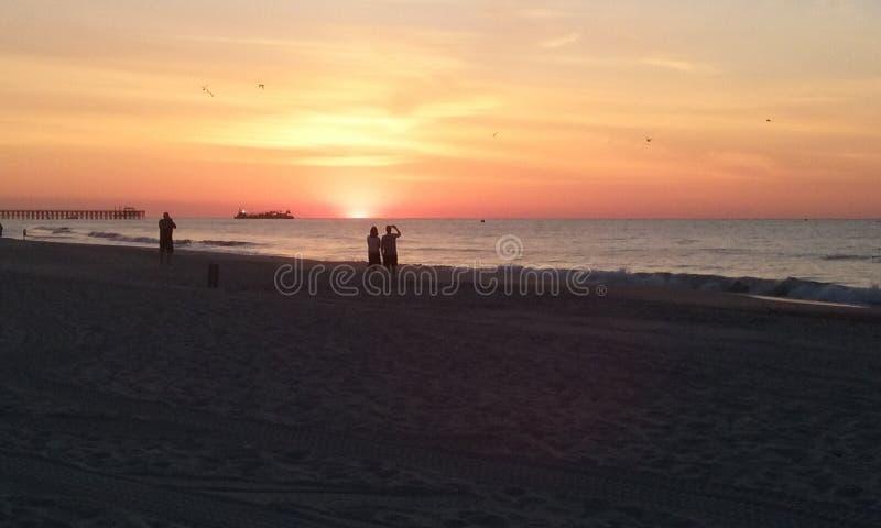 Mirt plaża zdjęcie stock
