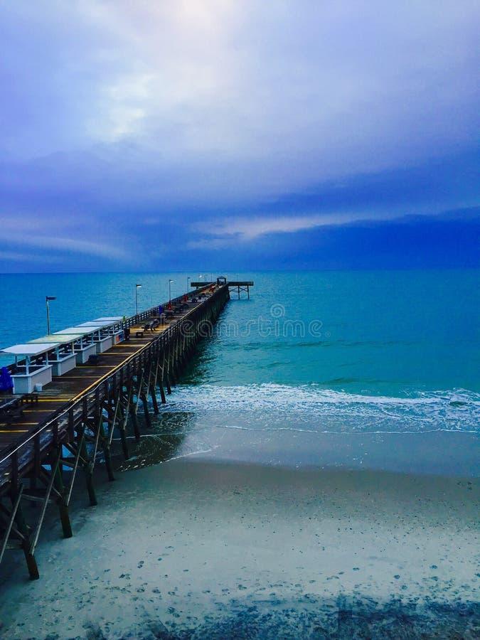 Mirt plaża, SC obrazy stock