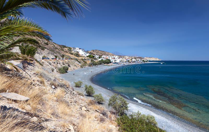 Download Mirtos Beach At Crete Island In Greece Stock Image - Image: 27883423