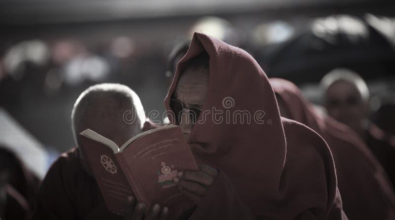 Mis escrituras en Tíbet foto de archivo