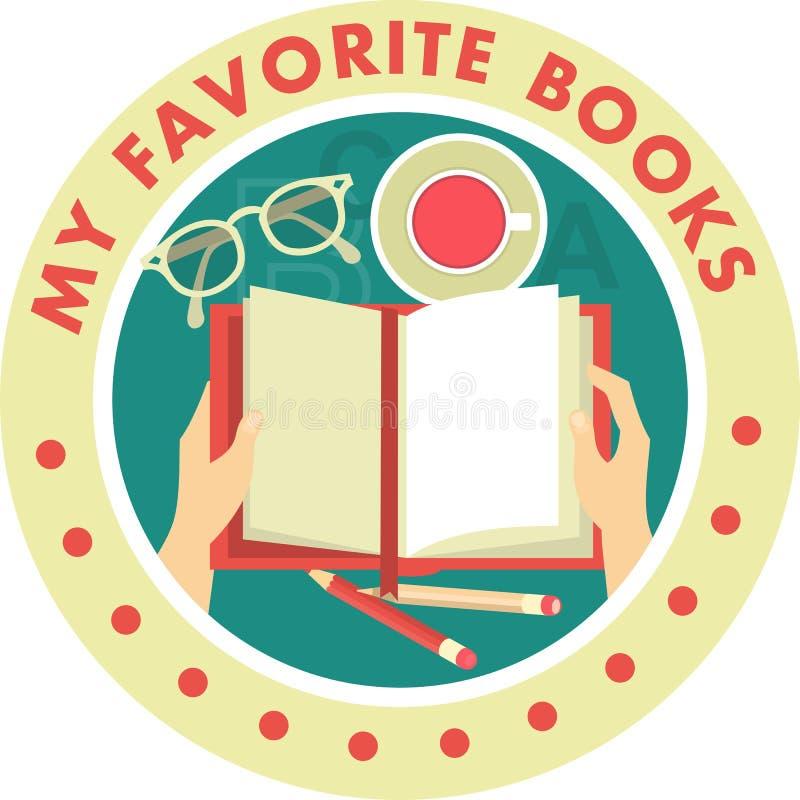 Mis libros del favorito libre illustration