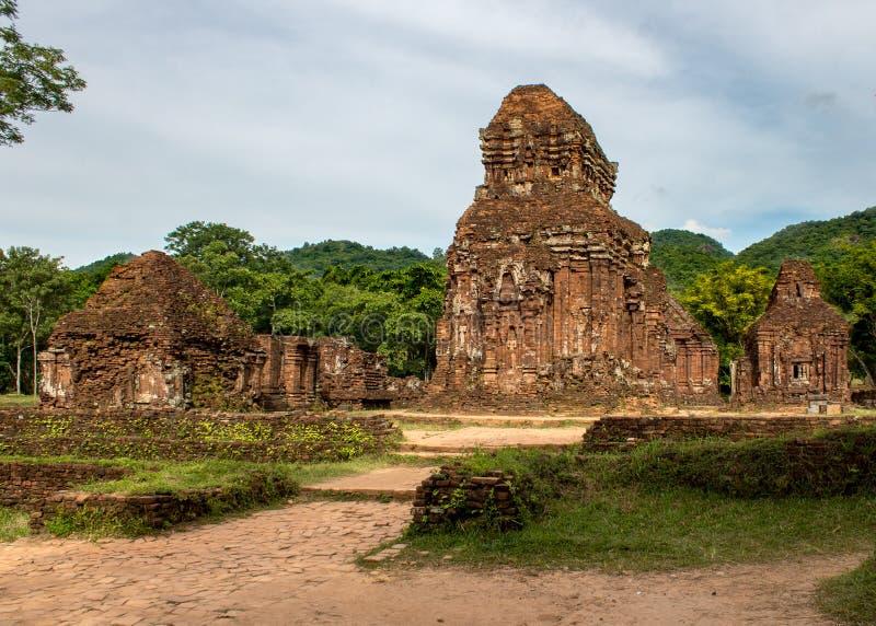 Mis templos Vietnam del hijo imagen de archivo