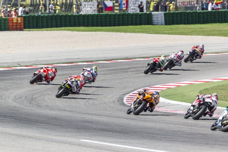 Misano Moto2 race, Italy stock image