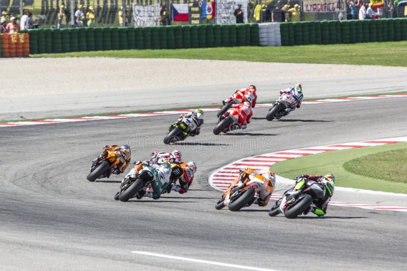 Misano Moto2 race, Italy stock photo