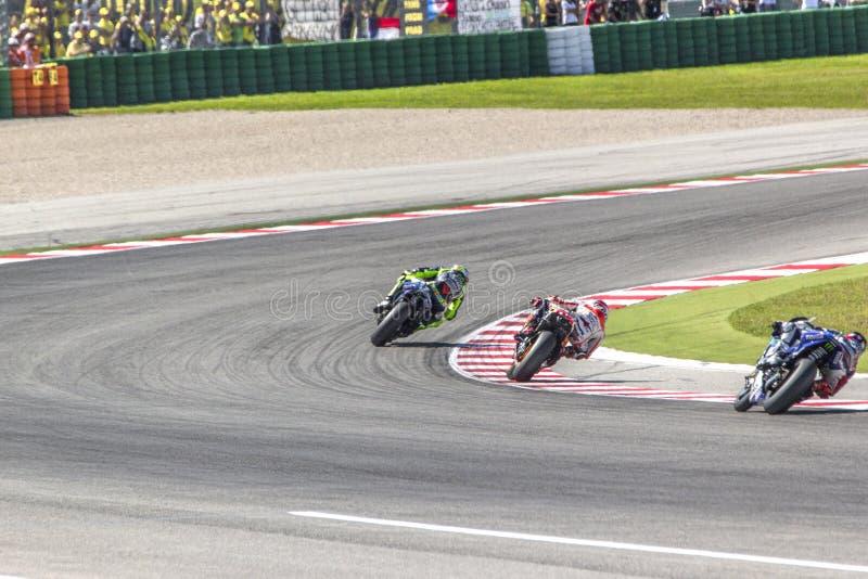 Misano MotoGP race. royalty free stock image