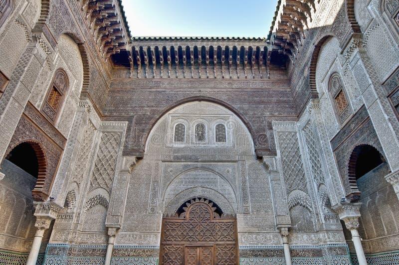 misbahiya Марокко medersa fez стоковое изображение rf