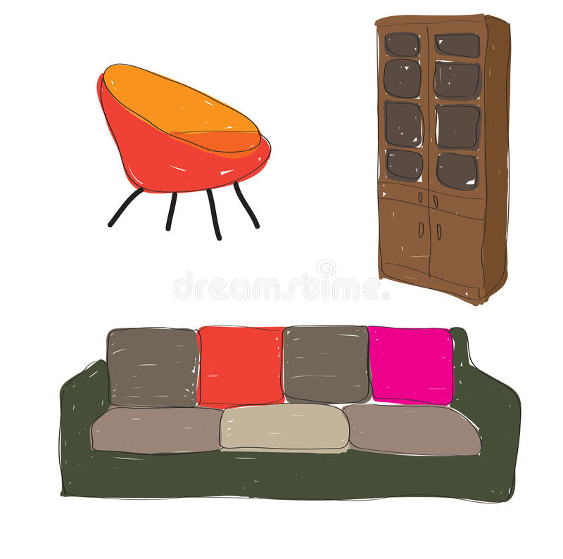 Misc Furniture royalty free stock photography