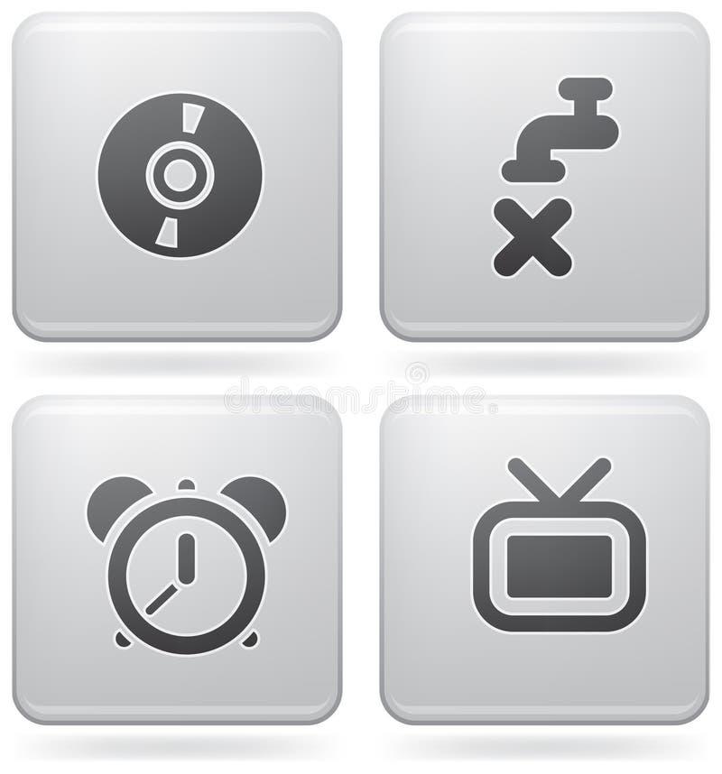 Misc Internet Icons Stock Photos