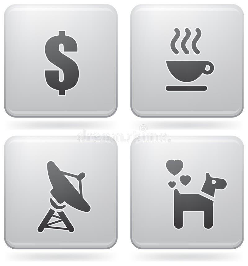 Misc Internet Icons vector illustration