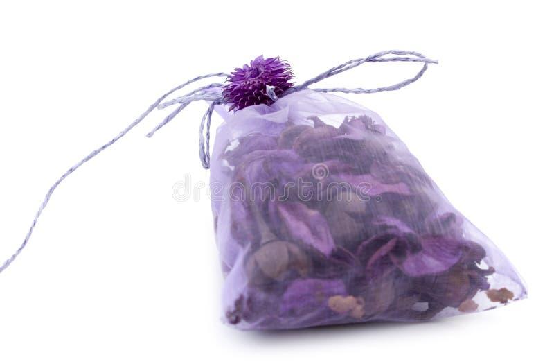 Miscela aromatica in un pacchetto del regalo immagini stock libere da diritti
