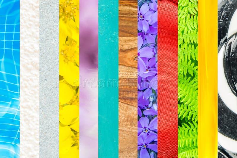 Miscela dei colori immagini stock