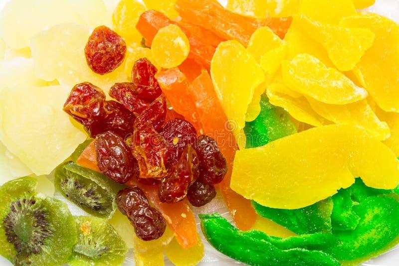 Miscela dei frutti secchi differenti fotografia stock