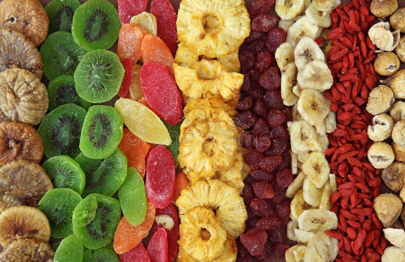 Miscela della frutta secca immagini stock libere da diritti