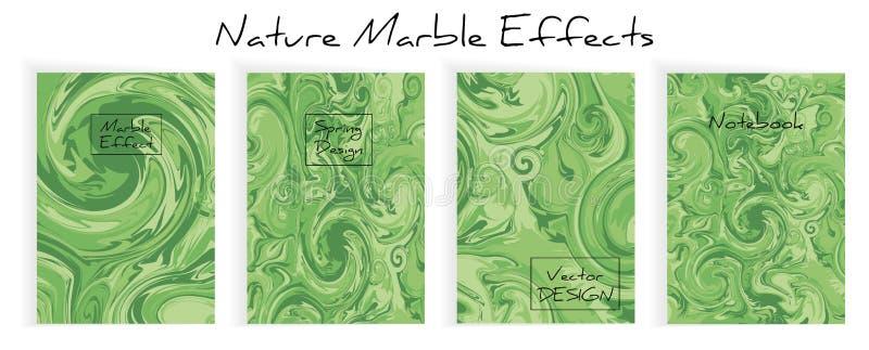 Miscela delle pitture acriliche Struttura di marmo liquida fotografia stock