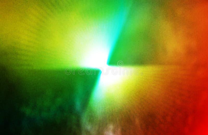 Miscela di colore della luce astratta con fondo di trama asciutto fotografia stock